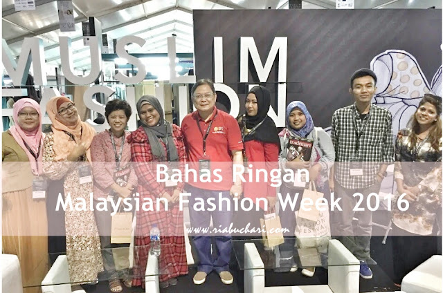 MENGULIK EVENT MALAYSIAN FASHION WEEK 2016 DI AJANG MUFFEST
