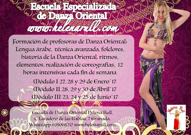 Formación de profesoras de Danza Oriental por Helena Rull