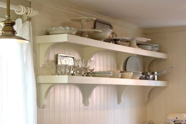 rak piring gantung dapur minimalis rumah idaman