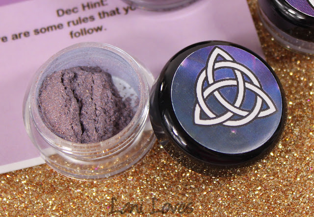 Notoriously Morbid Heart of the Family Eyeshadow Swatches & Review