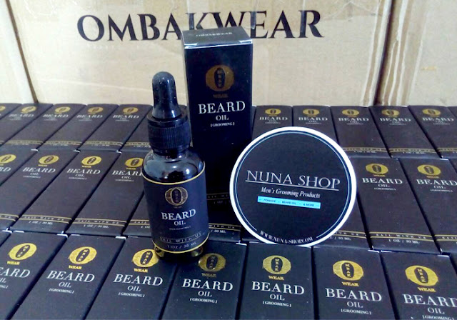 OMBAK BEARD OIL for Grooming Jenggot, Kumis dan Brewok