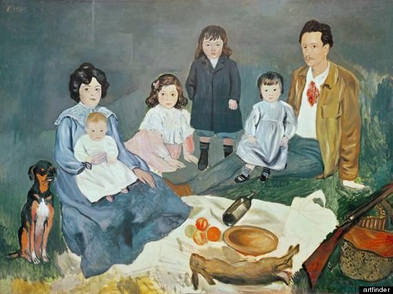 Resultado de imagem para família pinturas celebres