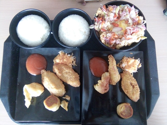 Menu Makan Siang di Box Well Kota Cinema Mall