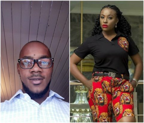 Lady gets slammed by a facebook user because she wore shorts made with traditional Ibo material