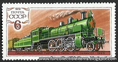 Train stamp I-3-I Serie C 1025