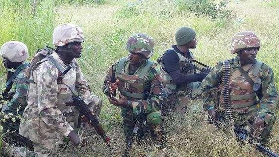 Nigerian Army Distroy Boko Haram Grain Market In Borno