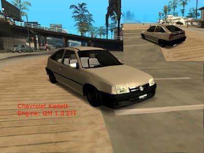 Download mod carro Chevrolet Kadett Tunavel para GTA San Andreas