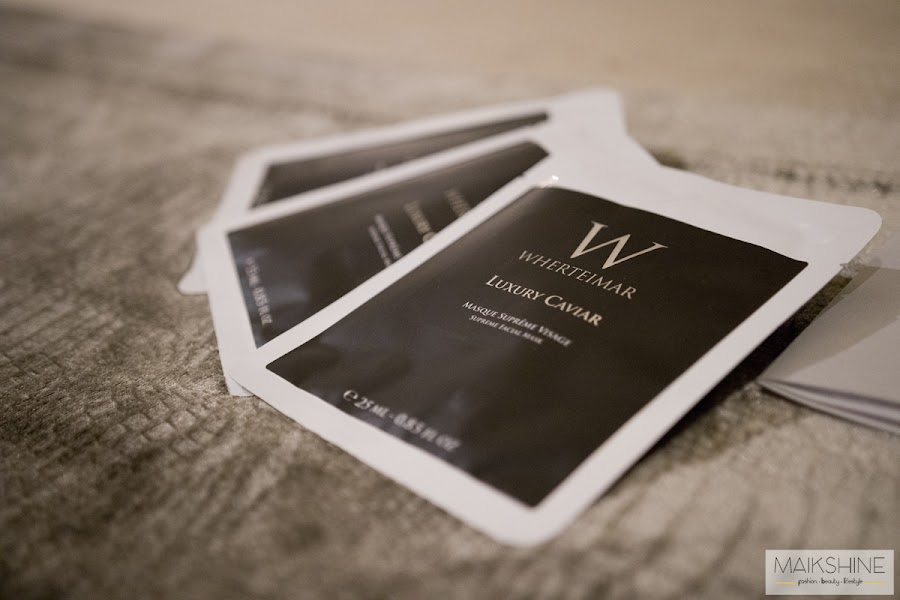 Luxury Caviar Wherteimar review Masque Supreme Visage