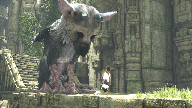 the last guardian wallpaper art