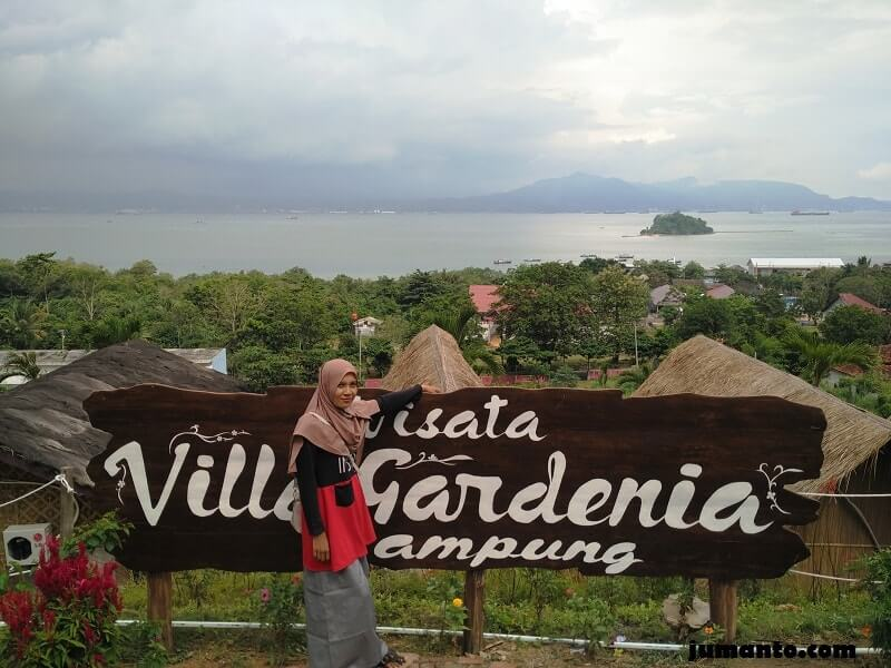 pemandangan villa gardenia lampung