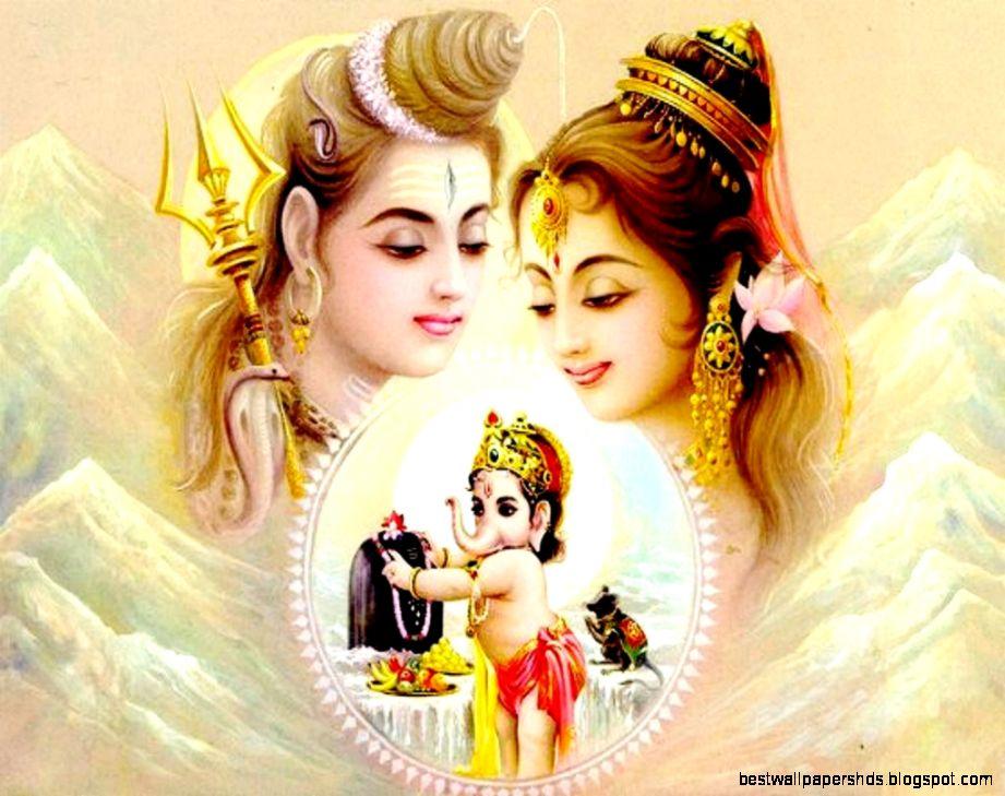Lord Shiva and Parvati Mata HD Wallpapers 2018 Collection ... |Shiva Parvati Love Wallpaper