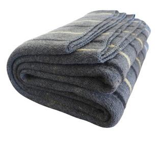 yellow wool blanket