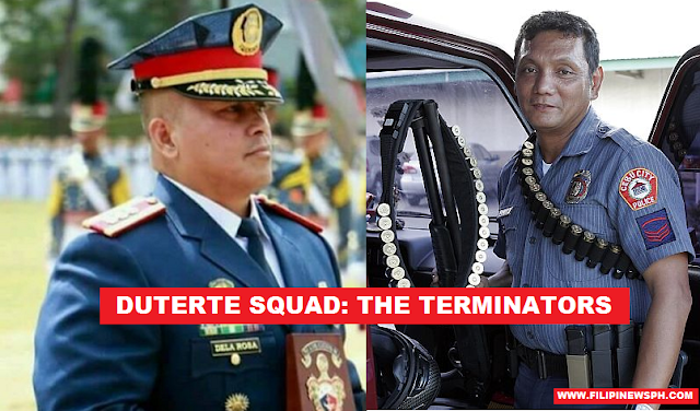 Meet Duterte's Terminators: De La Rosa and Dumpit