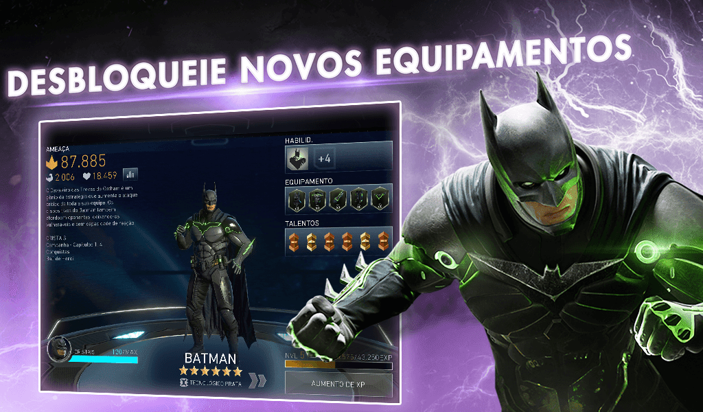 Injustice 2 Dano Infinito / Mod Menu 4.2.1