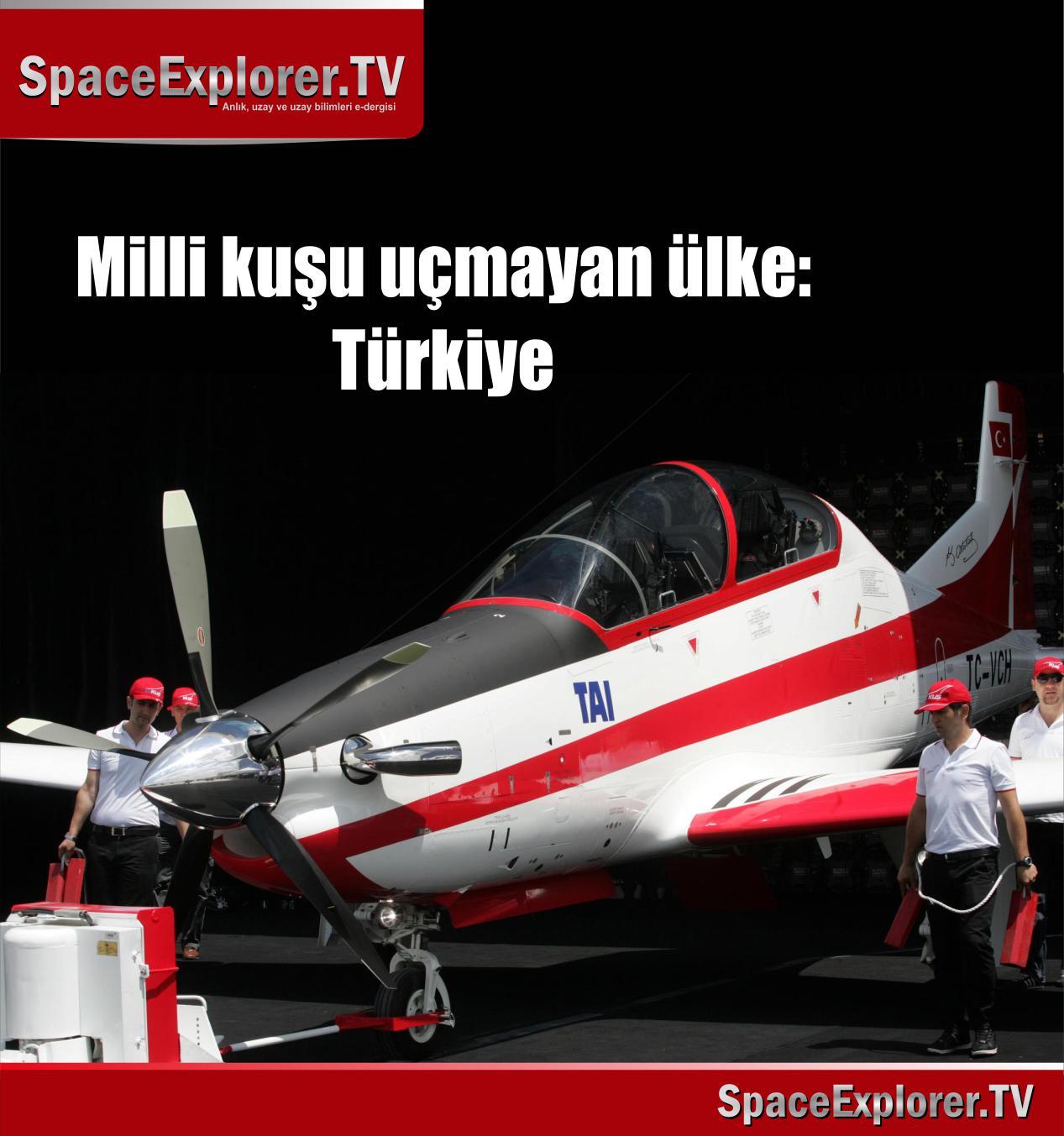 Milli kuşu uçmayan ülke: Türkiye