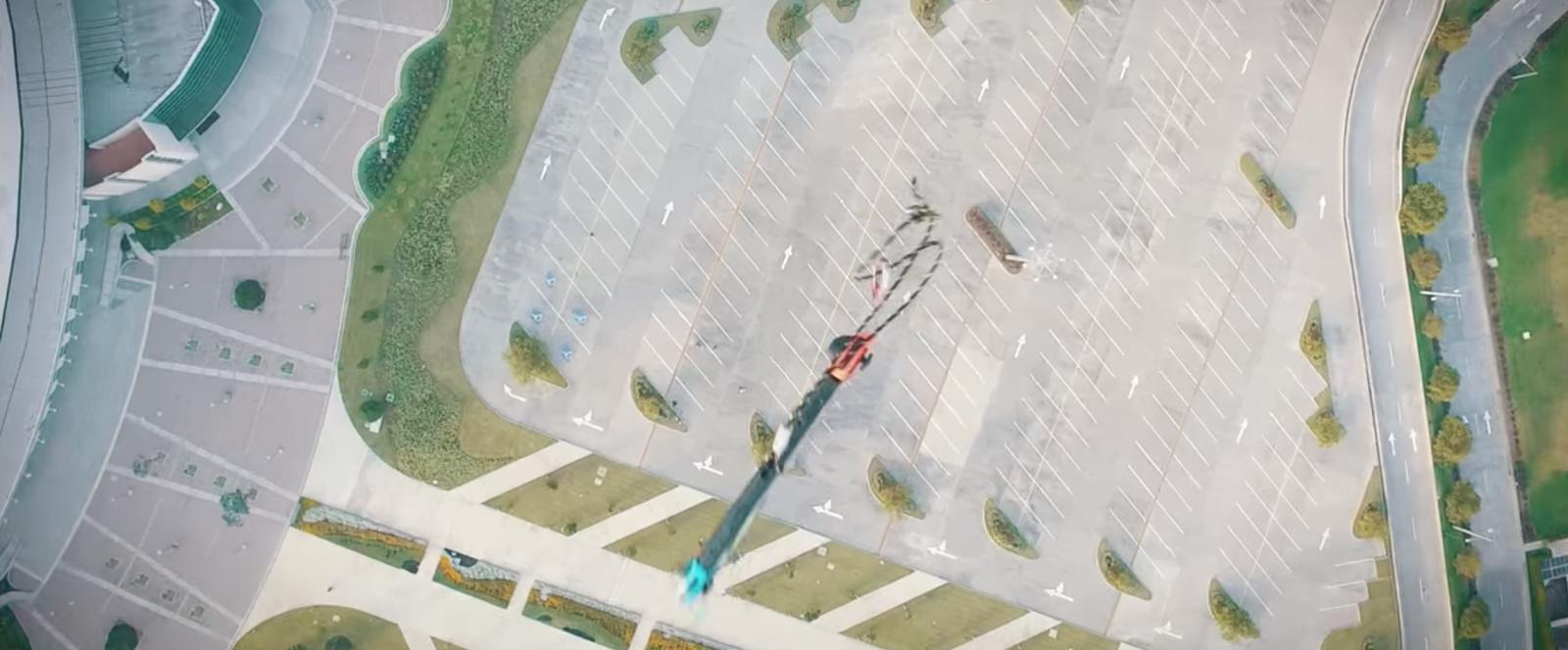 Lanzan Nintendo Switch desde 300 metros de altura para ver resistencia