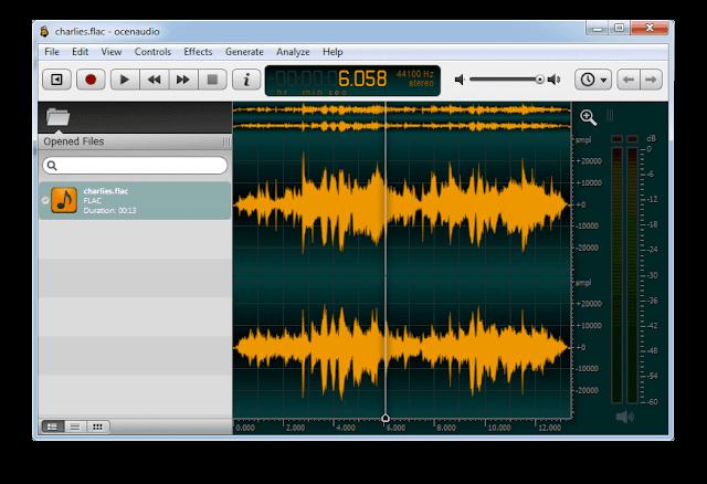 برنامج تعديل الصوت واضافة مؤثرات للكمبيوتر