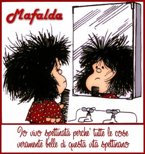 La Lezione Di Mafalda Io Vivo Spettinata