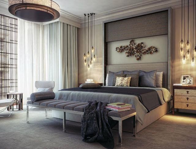 ديكورات واثاث غرف النوم للشقق والفلل راقية 2018