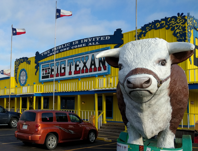 big steak breakfast at Big Texan Steak Ranch in Amarillo, Texas