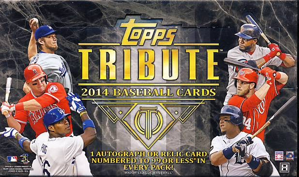 All About Sports Cards 2014 Topps Tribute Baseball Mystery