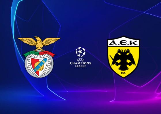 Benfica vs AEK Athens - Highlights 12 Decembre 2018