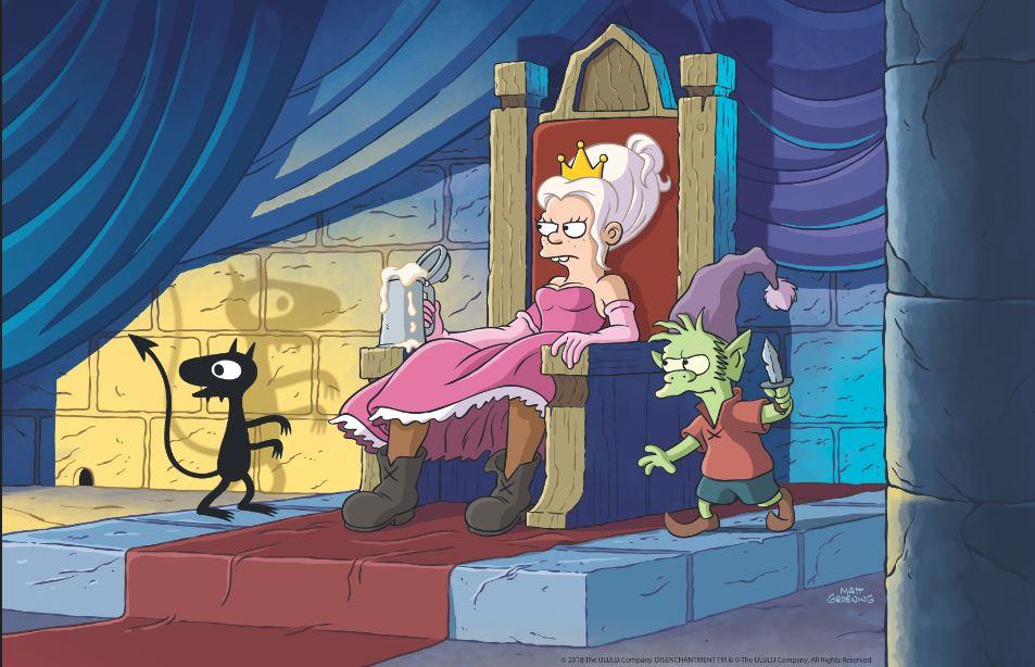 Netflix Orders More of Matt Groenings Disenchantment