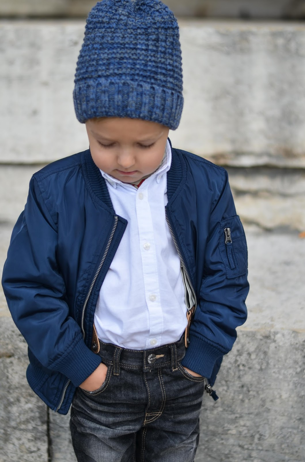 boy toddler fall style lindex bomber jacket zara beanie