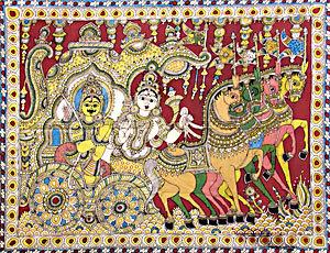 Kalamkari an ancient indian art form