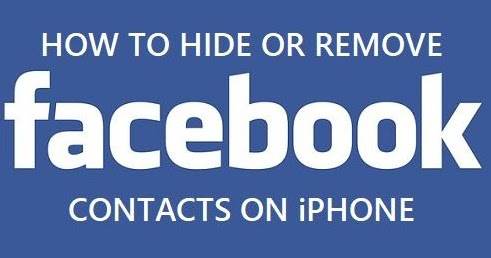 how to remove facebook contacts from iphone how to delete contacts on iphone 20225