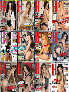 Revista H para Hombres Mexico – Coleccion 2016 PDF Digital