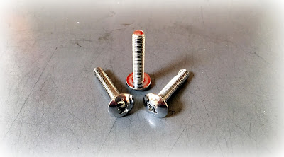 Custom Tin Cobalt Plated #10-32 X 1 Machine Screws - Phillips Truss Head In 316 Stainless Steel Material