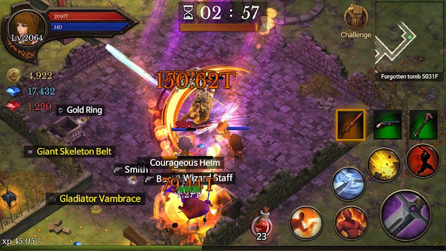 Dungeon Chronicle Screenshot 03