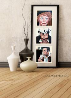 Inspirational Impact by Boulder portrait artist Tom Roderick