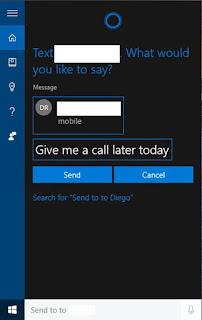 Kirim pesan teks SMS dari PC kamu menggunakan Cortana