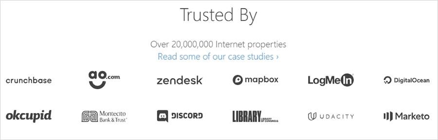 Cloudflare сотрудничает с известными компаниями