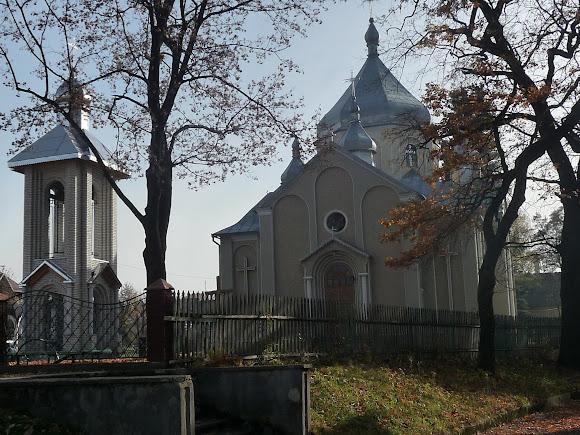 Посёлок Выгода. Церковь