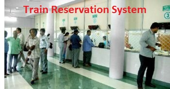 Railway Reservation System ~ Free Students Project