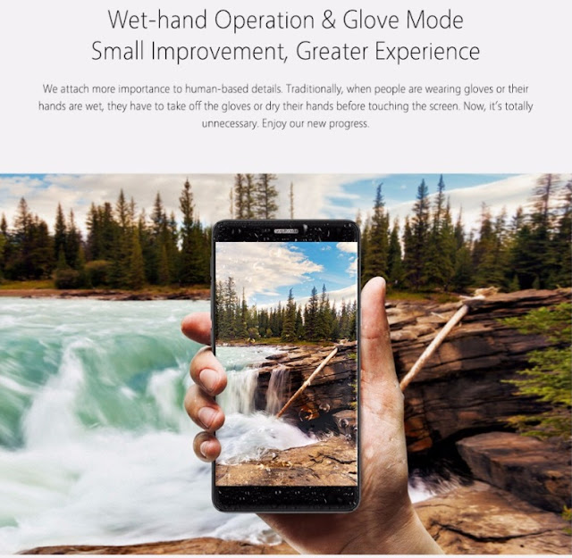 """""""Bluboo dual"""", Wet Hand Operable and Glove Mode Smartphone is a Perfect Gift this Valentines Day for $99"""