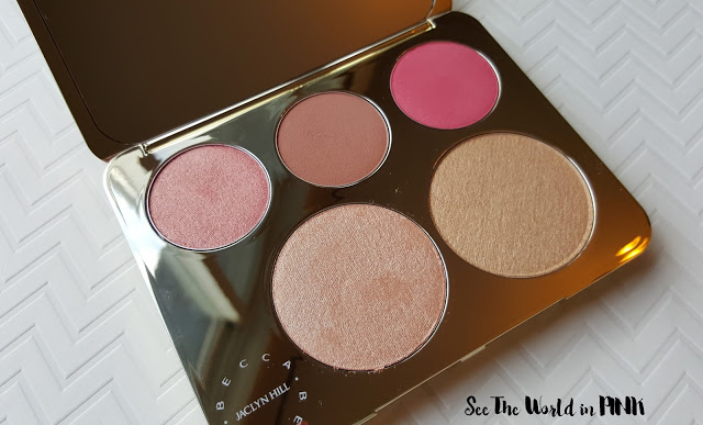jaclyn hill champagne glow collection face palette