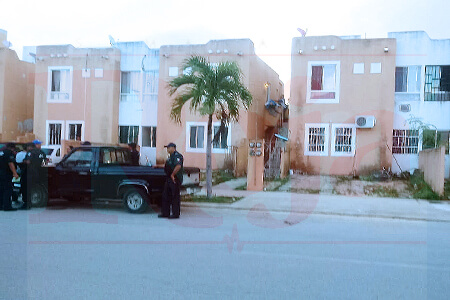 Desconcertante muerte en Villas del Sol de Playa del Carmen