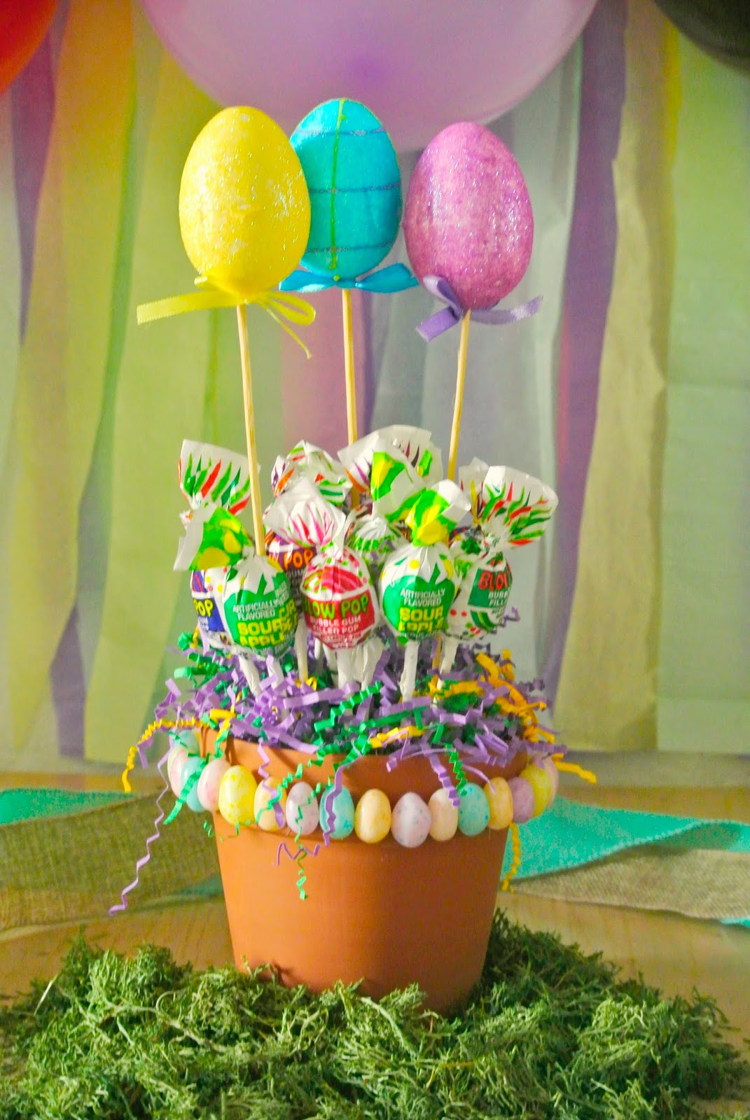 Easter bouquet, candy bouquet