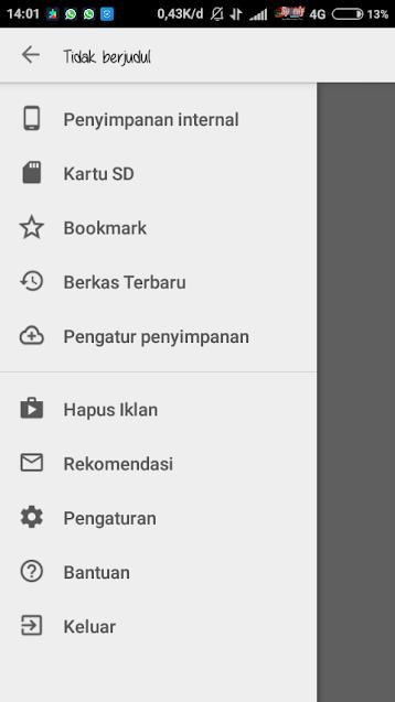 Cara Edit Html di Android dengan QuickEdit