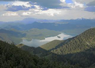 Blick über den Walchensee