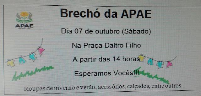 Brechó da APAE Vacaria