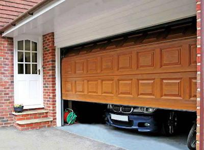 model pintu garasi geser terbaru