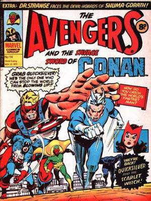 Marvel UK, Avengers #114, Quicksilver