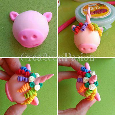 unicornio-con-tirabuzones-y-rosas-con-pasta-flexible-Crea2-con-Pasión