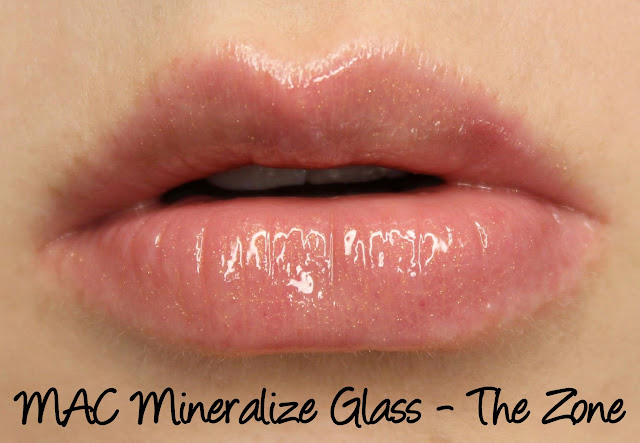 Future MAC - The Zone Mineralize Glass Swatches & Review