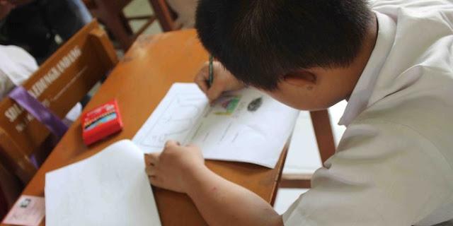 Ujian Mate & Agama 40 SD di Tapos Ditunda Gara-Gara Soal Telat Datang